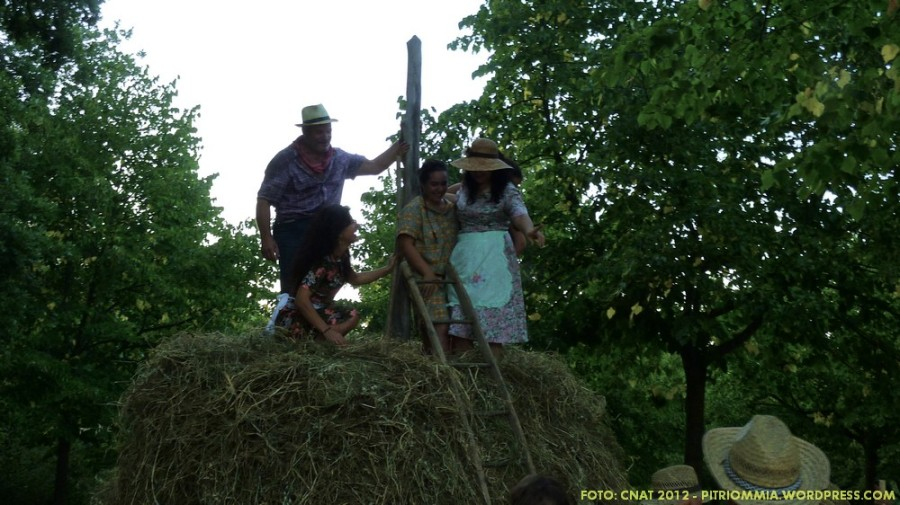 Pitrió' mmia e amici al Festival delle Tradizioni a Santa Croce di Mogliano MC