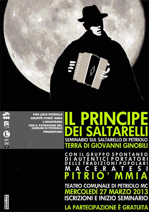 Il Principe dei Saltarelli - seminario sul saltarello di Petriolo con il gruppo Pitrió' mmia